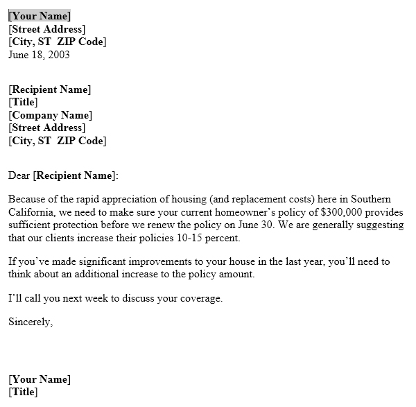 Below Is The Preview And Download Link To This Insurance Coverage Letter Template
