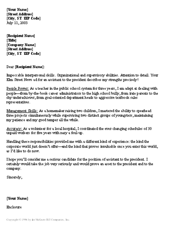 Useful Resume Cover Letter Templates Useful Letters