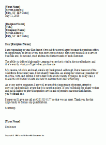 Travel Agent Cover Letter