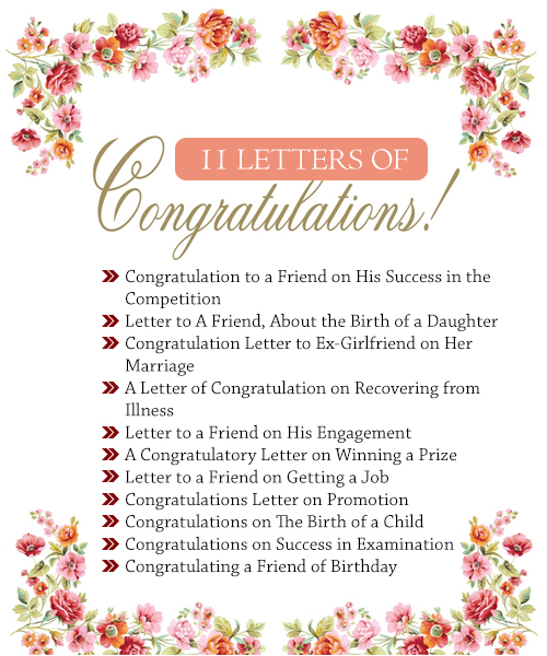 11 letters of congratulations useful letters templates 1 congratulation to a friend on his success in the competition thecheapjerseys Gallery